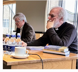 Prof. John Milbank and Rev. Dr Rowan Williams