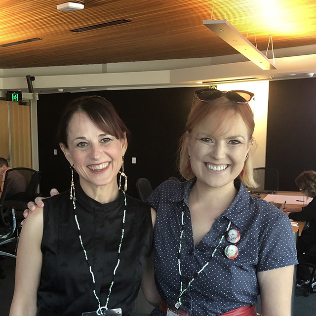 Elizabeth Stephens and Karin Sellberg