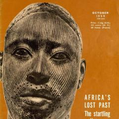 The UNESCO Courier, October 1959 cover