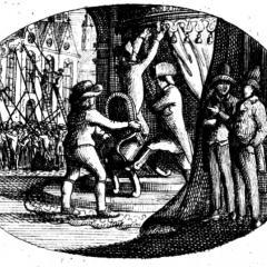 From Frontispiece, [Ludwig Adolf Christian von Grolman] Nachrichten von einem großen, aber unsichtbare Bunde gegen die christliche Religion und die monarchischen Staaten (1795)
