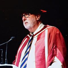 Emeritus Professor Fred D'Agostino.