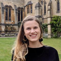 Michelle Pfeffer at Oxford
