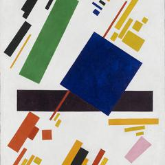 Image: Kazimir Malevich, Suprematist Composition (1916). Via Wikimedia Commons.